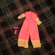 "SOLD Vintage Mattel 1970-71 Francie ""Entertainer"" #1763 Outfit - Red Tag Sale Item"