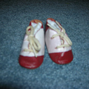 Vintage Doll Saddle Shoes