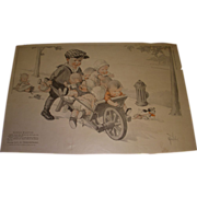 "SALE Vintage 1921 Charles Twelvetrees ""Babies Wanted"" Magazine Memorabilia!"