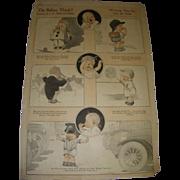 "SALE Vintage 1921 Charles Twelvetrees ""Do Babies Think?"" Magazine Memorabilia!"