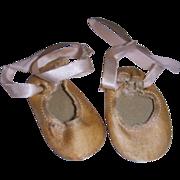 Vintage Satin Ballet Slippers/Shoes!
