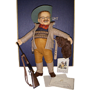 "SALE MIB R. John Wright ""Teddy Roosevelt - Mississippi Bear Hunt""!"