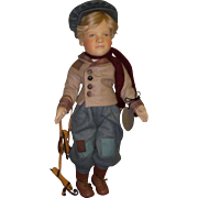 """SALE MIB R. John Wright """"Hans Brinker"""" from the Storybook Doll Series!"""