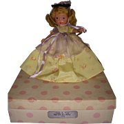 """Nancy Ann Storybook Doll Bisque """"Little Bo Peep"""" Boxed"""