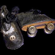Vintage Effanbee Doll Roller Skates