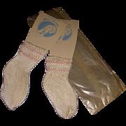 Vintage MIP Rayon Socks!