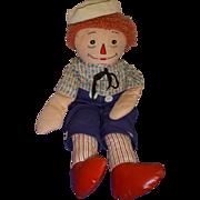 Vintage Cloth Raggedy Andy Doll