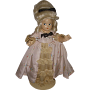 "Vintage Madame Alexander Tiny Betty ""Colonial"" Doll All Original"