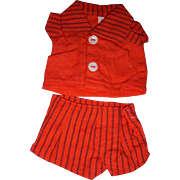 Vintage Tagged Tiny Terri Lee Shorts Set