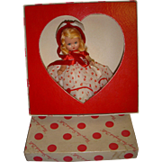"Vintage Boxed Bisque Nancy Ann Storybook Doll - ""Queen of Hearts #157"