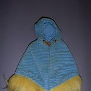 """Vintage Mattel Francie 1970-1971 #1764 """"Corduroy Cape"""" Dress!"""