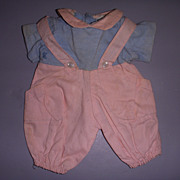 Vintage Tagged Madame Alexander Baby Doll Outfit!