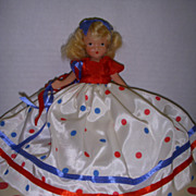 """SALE Nancy Ann Storybook Doll Bisque """"A Very Independent Lady for July""""!"""