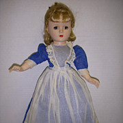 "SALE Vintage 1950s Madame Alexander Little Women ""MEG"" Doll!"
