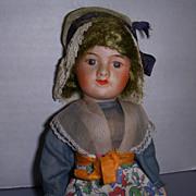 """French SFBJ Paris 8"""" Doll All Original!"""