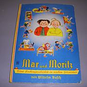 """Vintage German Storybook """"Max and Moritz""""!"""