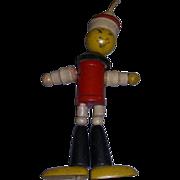"Jaymar ""Chinese Man"" Vintage Wooden Jointed Figure!"