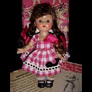 "Vintage 1950s Vogue Ginny ""Kinder Crowd"" Doll MIB!"