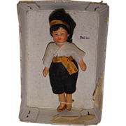 Vintage All-Bisque Doll-House Doll MIB!