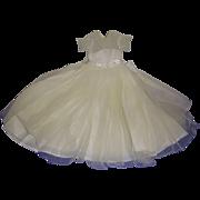 Vintage 1950's Alexander Tagged Wendy Bridal Gown & Slip Set!