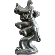 1940s Cast Lead DISNEY PLUTO DOG Figure Toy, Home Foundry Mold
