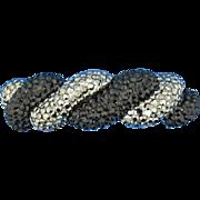 Black & Gray Rhinestone Bracelet