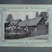 Grant Silk Postcard - Anne Hathaway's Cottage