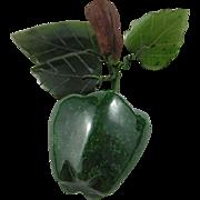 Lovely BC Jade Apple Ornament
