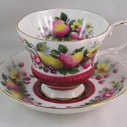 Royal Albert Country Fayre Surrey Cabinet Teacup and Saucer