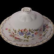 Royal Albert (England) Jubilee Rose - Covered Butter Dish