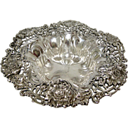 Sterling Silver Dominick & Haff Ornate Flower Bowl