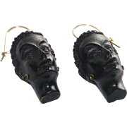 Vintage Blackamoor Earrings
