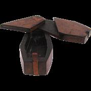 Snuff Coffin Hardwood Puzzle Box