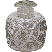 "R. Lalique ""Epines"" Perfume Bottle circa 1920"