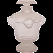 R. Lalique Frosted Bouquet de Faunes for Guerlain Glass Perfume Bottle