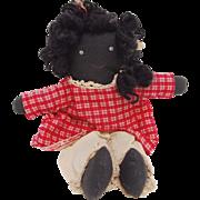 Vintage African American Rag Doll