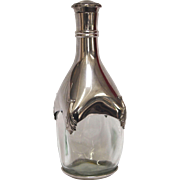 Vintage Etains du Manoir Pweter Decanter