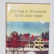 SALE Cooking In Woodstock Cook Book 1st  edition New York