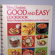 SALE 1st Edition, 1971 First Printing *  Betty Crocker's Good and Easy Cookbook