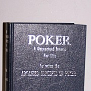 SALE Poker Book Frank R. Wallace