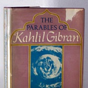 SALE The Parables of Kahlil Gibran 1st Ed.