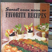 SALE 1252 Recipes Sunset Cookbook 1949 - 1965