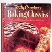 SALE Betty Crocker's Baking Classics 1st Edition Book