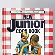 SALE 1st Edition Junior Cook Book