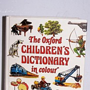 SALE The Oxford Children's Dictionary in colour (1979)