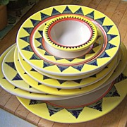 SOLD (12) Pieces Homer Laughlin Restaurant Ware China platters, plates, bowls