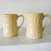 SALE 2 Tepco China Belfast Root Beer Mugs