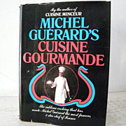 SALE 1st Edition Michel Guerard's Cuisine Gourmande 1979