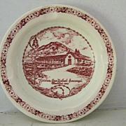 """SALE """"Vernon"""" California  Mission Souvenir Ashtray"""