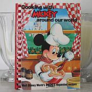 SALE 1st Edition Mickey Mouse Disneyland Cookbook